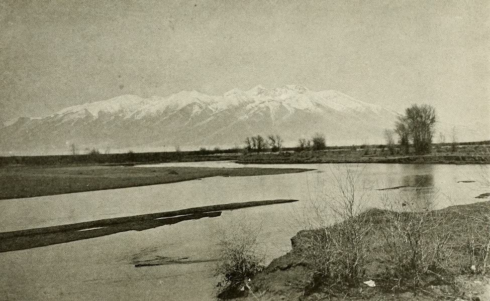 Colorado, The Queen Jewel of the Rockies - The Rio Grande, with Mt. Blanca, of the Sangre de Cristo Range, in the Background (1918)
