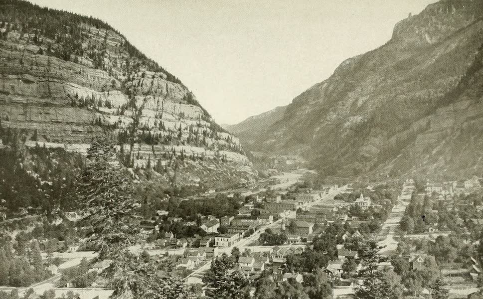 """Colorado, The Queen Jewel of the Rockies - Ouray, """"Gem of the Rockies"""" (1918)"""