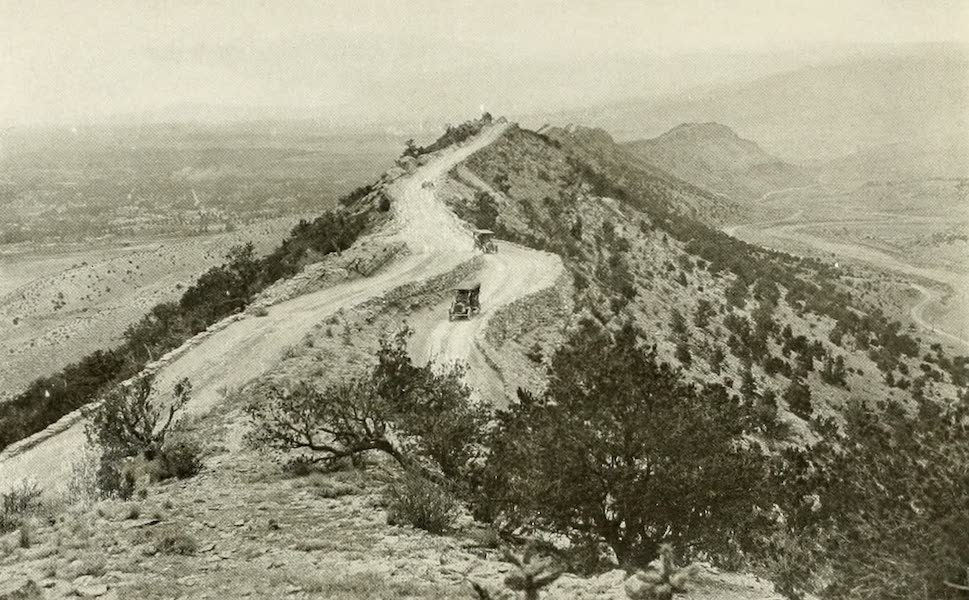 Colorado, The Queen Jewel of the Rockies - The Sky Line Drive, Canyon City (1918)