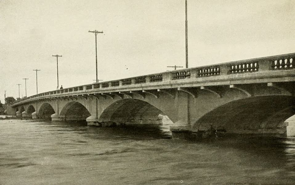 Colorado, The Queen Jewel of the Rockies - Bridge over the Arkansas at La Junta (1918)