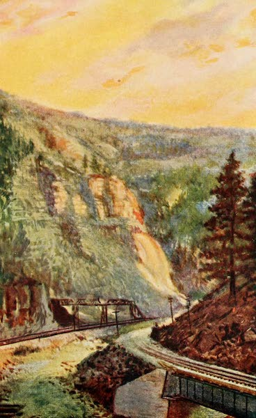 Colorado, The Queen Jewel of the Rockies - Eagle River Canyon (1918)