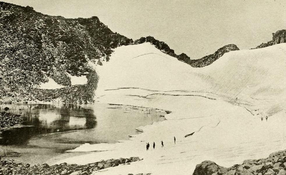 Colorado, The Queen Jewel of the Rockies - Hallett's Glacier (1918)