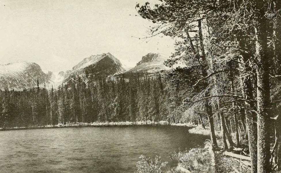 Colorado, The Queen Jewel of the Rockies - Bierstadt Lake and Hallett Mountain (1918)