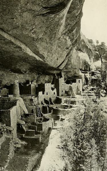 Colorado, The Queen Jewel of the Rockies - The Cliff Palace (1918)
