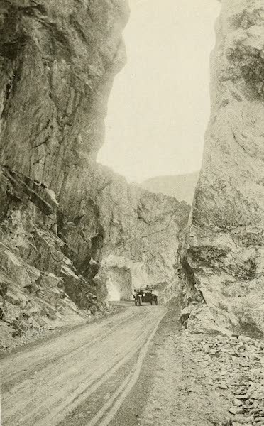 Colorado, The Queen Jewel of the Rockies - On the Rainbow Route, near Salida (1918)