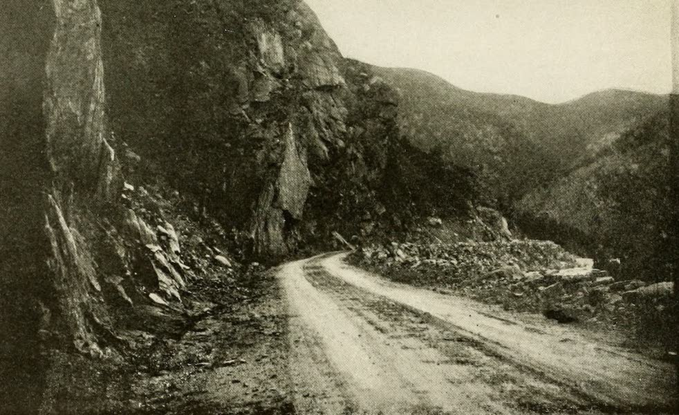 Colorado, The Queen Jewel of the Rockies - On the Wolf Creek Pass Road (1918)