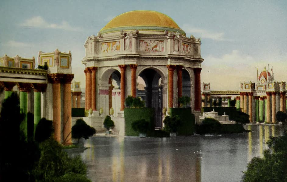 Colortypes of the Panama-Pacific International Exposition - The Palace of Fine Arts (1915)