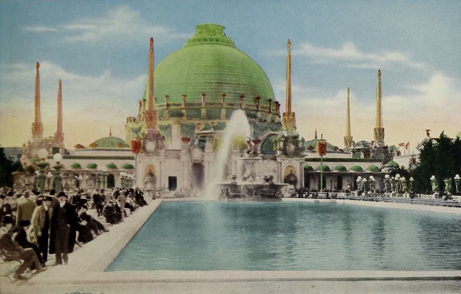 Colortypes of the Panama-Pacific International Exposition - The Palace of Horticulture (1915)