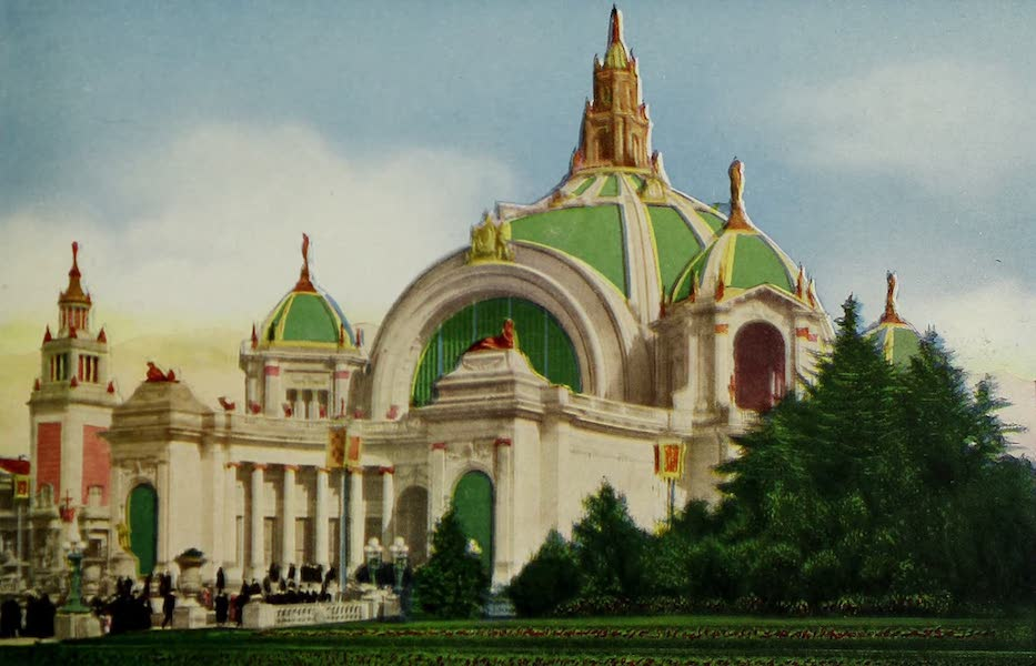 Colortypes of the Panama-Pacific International Exposition - Festival Hall (1915)