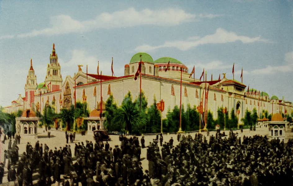 Colortypes of the Panama-Pacific International Exposition - The Palace of Varied Industries (1915)