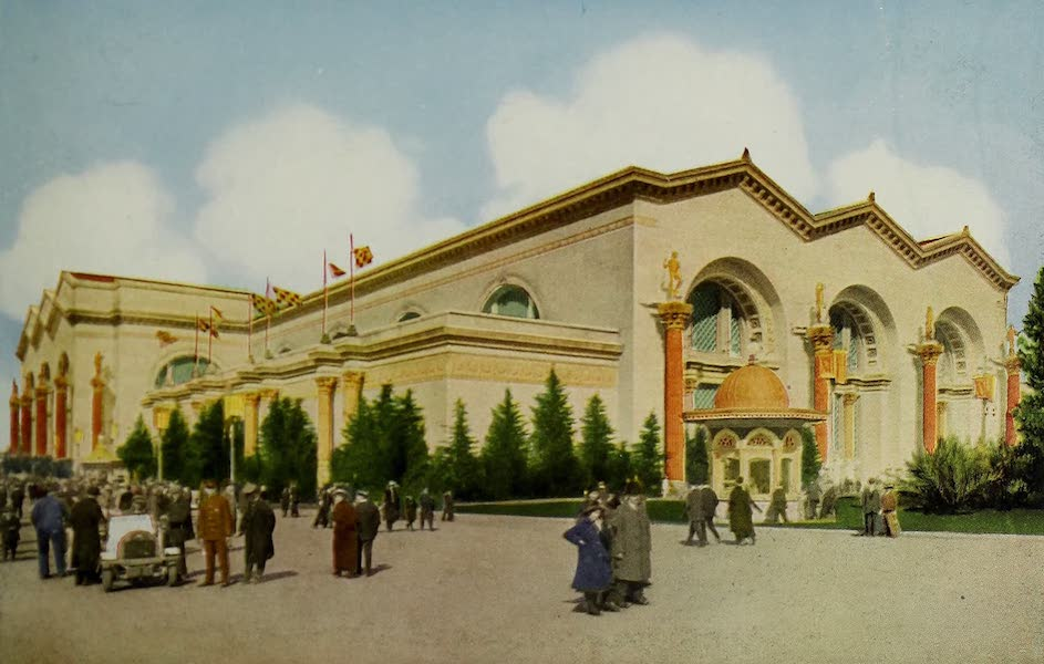Colortypes of the Panama-Pacific International Exposition - The Palace of Machinery (1915)