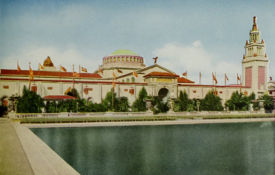 Colortypes of the Panama-Pacific International Exposition - The Palace of Manufactures (1915)