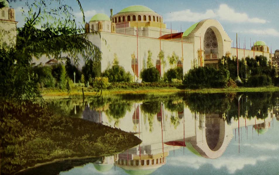 Colortypes of the Panama-Pacific International Exposition - The Palace of Education (1915)