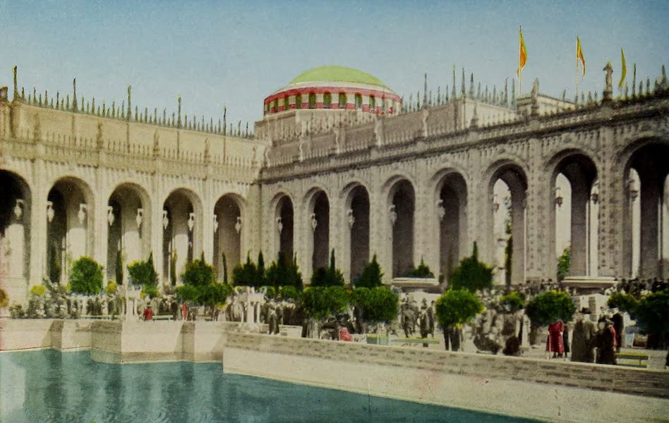 Colortypes of the Panama-Pacific International Exposition - A Corner in the Court of Abundance (1915)