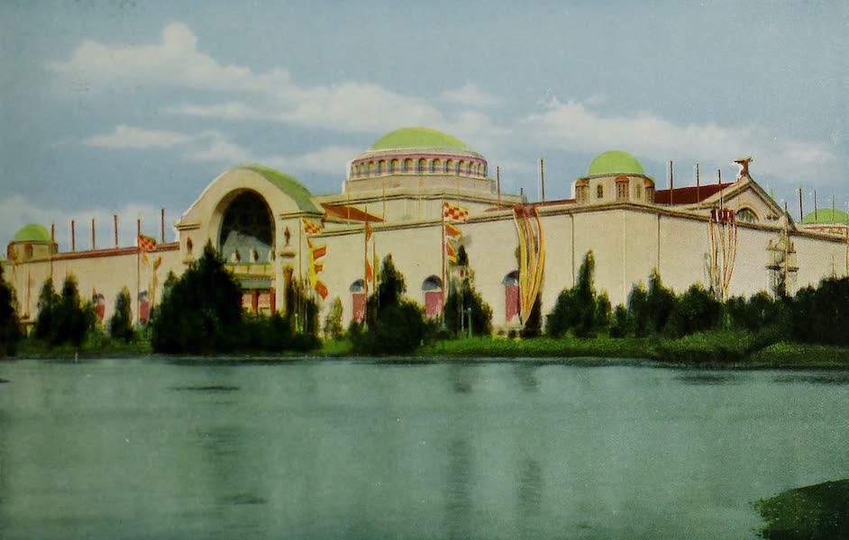 Colortypes of the Panama-Pacific International Exposition - The Palace of Pure Foods (1915)