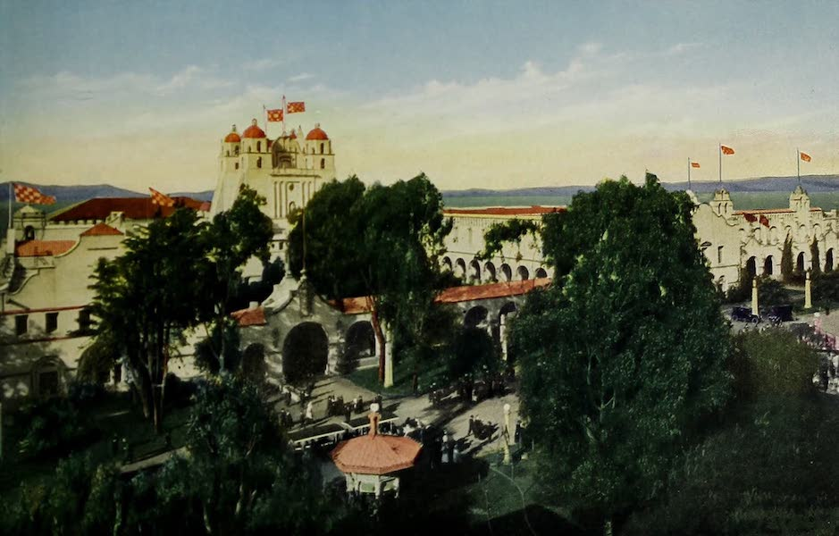 Colortypes of the Panama-Pacific International Exposition - The California State Building (1915)