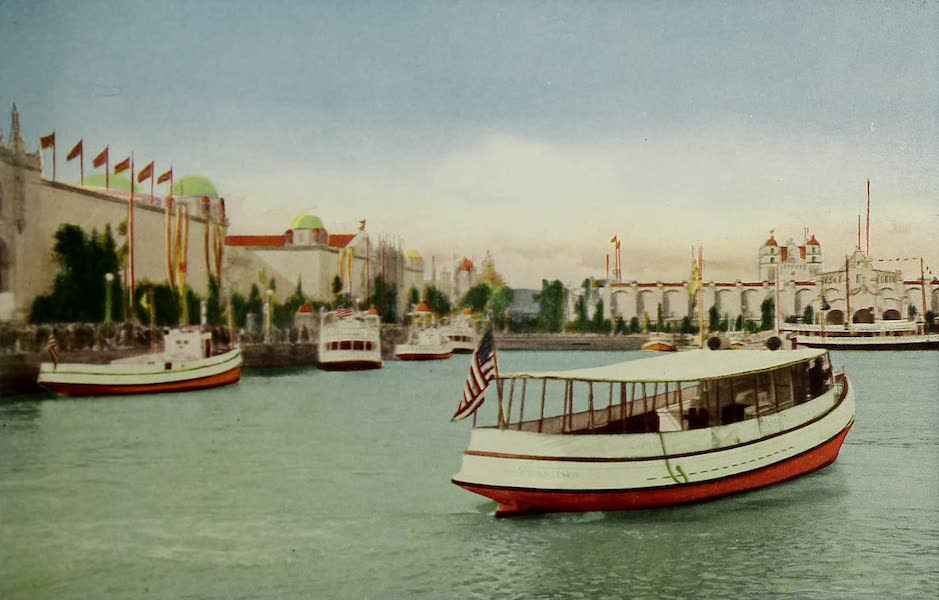 Colortypes of the Panama-Pacific International Exposition - Yacht Harbor (1915)