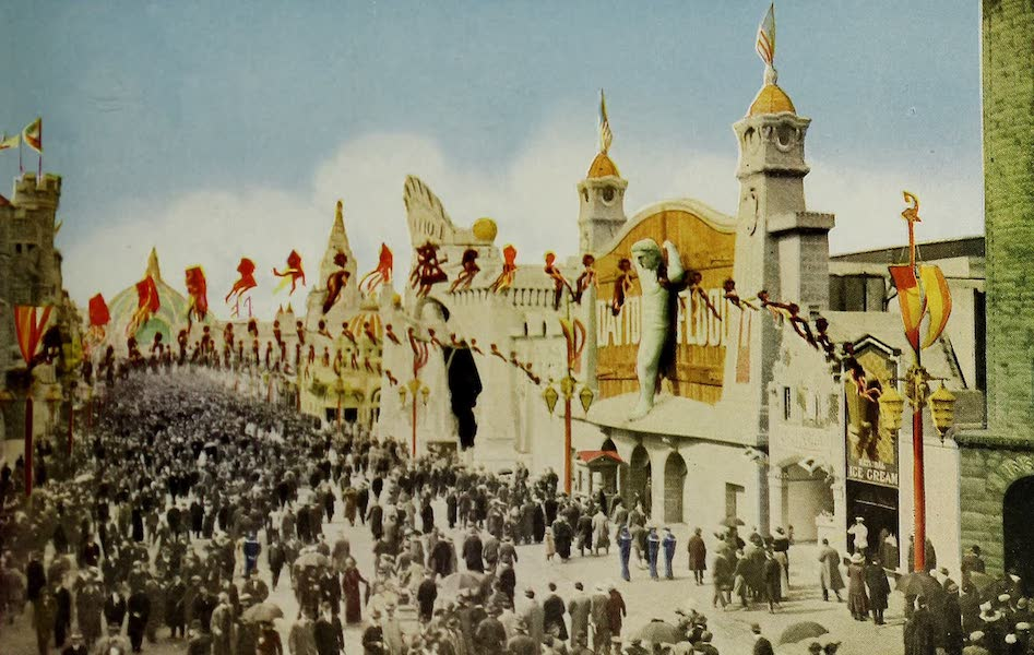 Colortypes of the Panama-Pacific International Exposition - The Western Section of the Zone (1915)