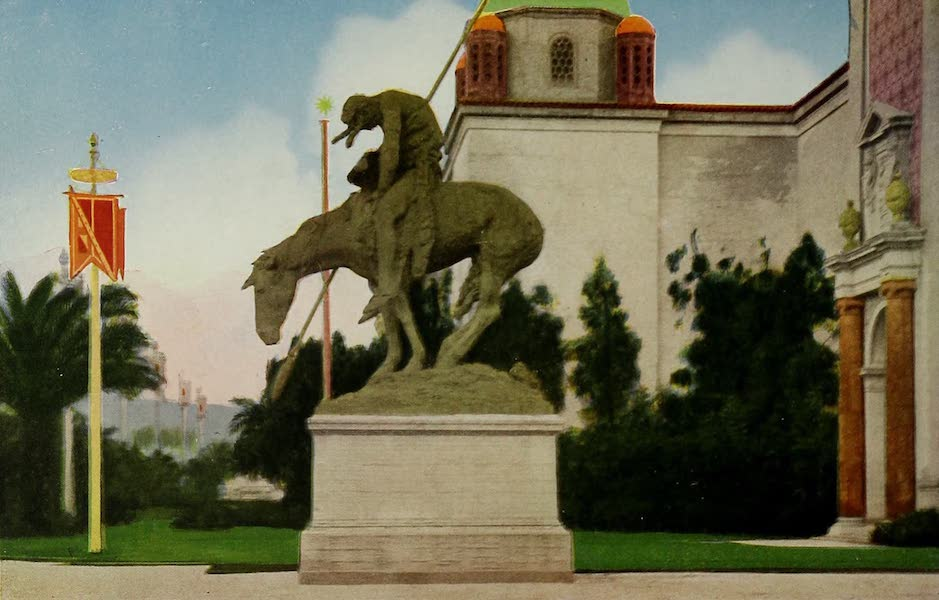 Colortypes of the Panama-Pacific International Exposition - The End of the Trail (1915)
