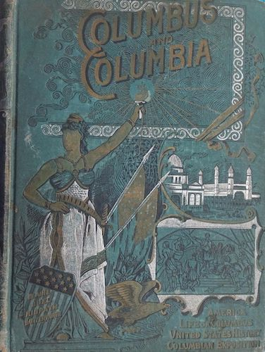Aquatint & Lithography - Columbus and Columbia