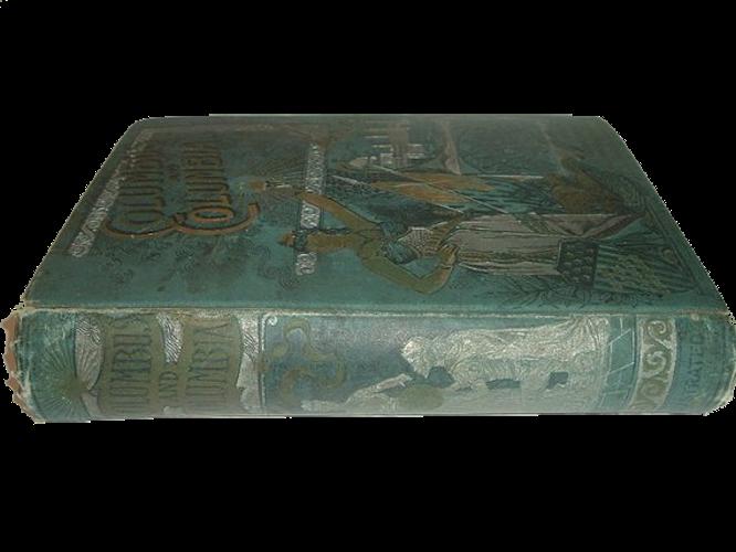 Columbus and Columbia - Book Display IV (1892)