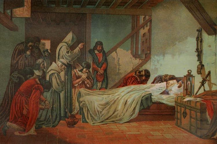 Columbus and Columbia - Death of Columbus (1892)