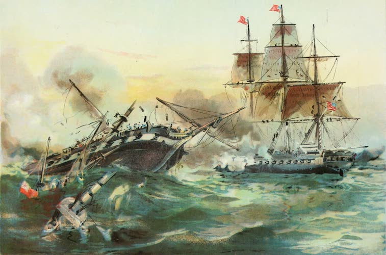 Columbus and Columbia - Naval Duel Between the Constitution and Guerriere (1892)