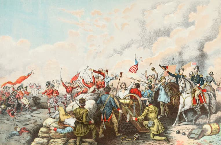 Columbus and Columbia - General Jackson's Victory at New Orleans (1892)