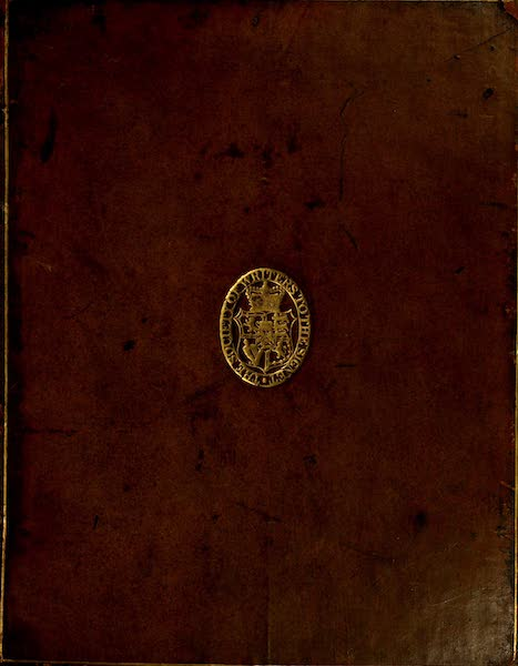 Constantinople Ancient and Modern - Front Cover (1797)