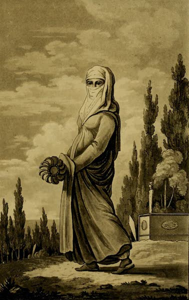 Constantinople Ancient and Modern - Turkish Lady (1797)