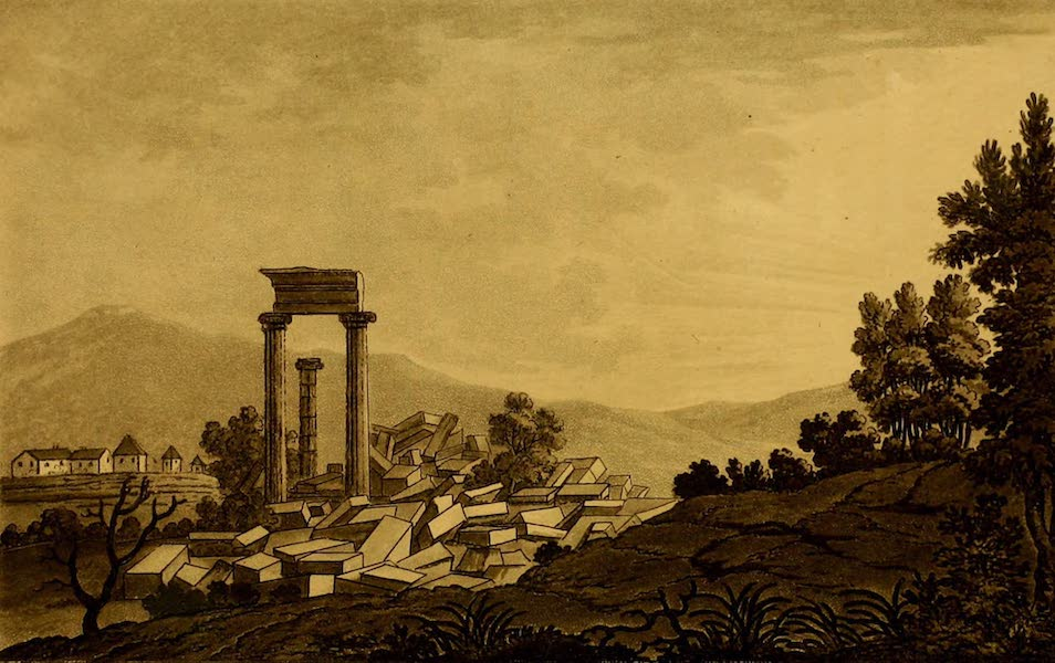 Constantinople Ancient and Modern - Temple of Apollo, Dydimaeus (1797)