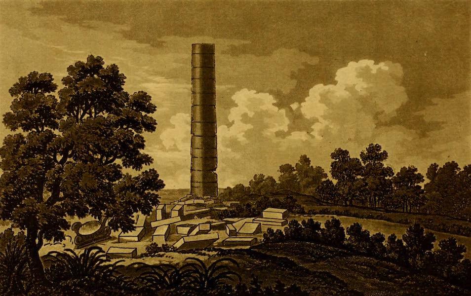 Constantinople Ancient and Modern - Column at Samos (1797)
