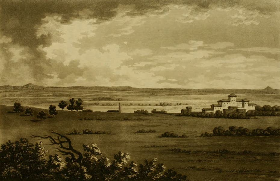 Constantinople Ancient and Modern - Plain of Troy, above Bouner-basbi (1797)