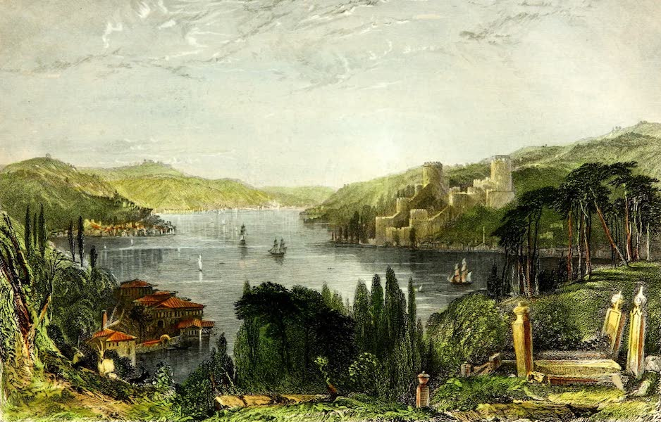 Constantinople and the Scenery of the Seven Churches of Asia Minor Vol. 1 - Roumeli-Hissar, or, The Castle of Europe (1839)