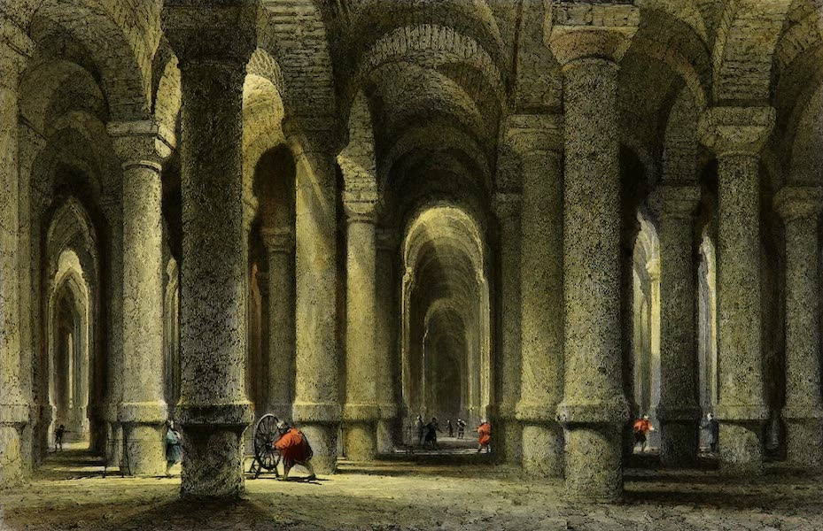 Constantinople and the Scenery of the Seven Churches of Asia Minor Vol. 1 - The Cistern of Bin-bir-derek (1839)