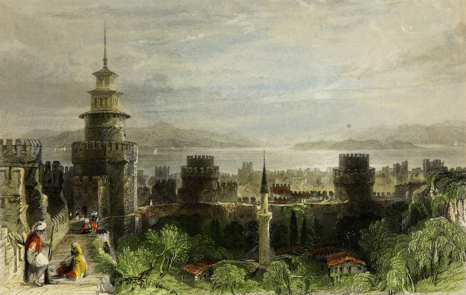 Constantinople and the Scenery of the Seven Churches of Asia Minor Vol. 1 - Prison of the Seven Towers (1839)