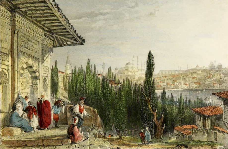 Constantinople and the Scenery of the Seven Churches of Asia Minor Vol. 1 - Petit Champs des Morts (1839)