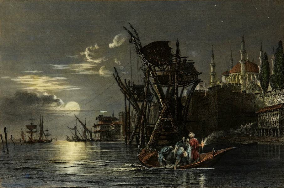 Constantinople and the Scenery of the Seven Churches of Asia Minor Vol. 1 - Baluk hané (1839)