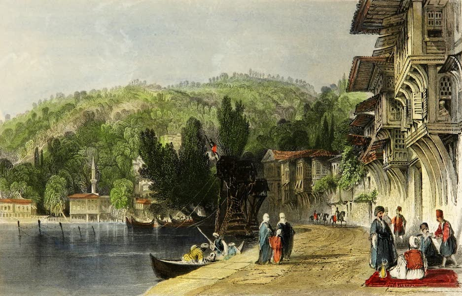Constantinople and the Scenery of the Seven Churches of Asia Minor Vol. 1 - The Village of Babec (1839)