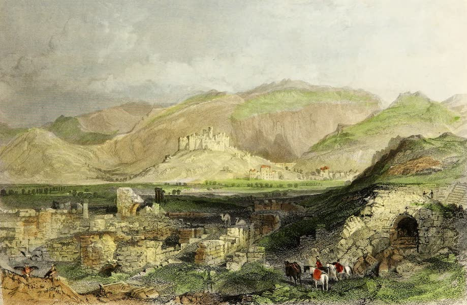 Constantinople and the Scenery of the Seven Churches of Asia Minor Vol. 1 - The Ruins of Ephesus (1839)