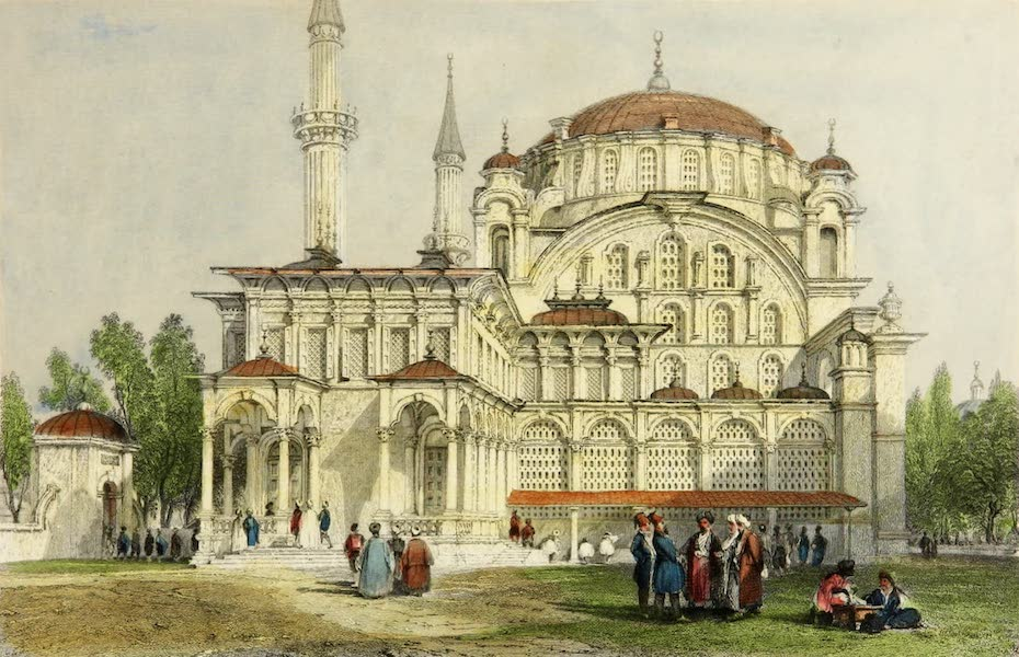 Constantinople and the Scenery of the Seven Churches of Asia Minor Vol. 1 - Mosque of Sultan Selim at Scutari (1839)