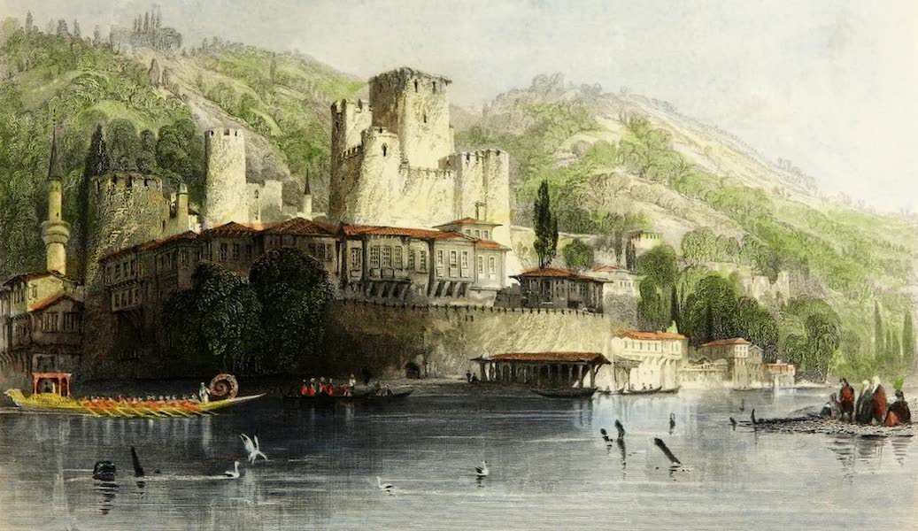 Constantinople and the Scenery of the Seven Churches of Asia Minor Vol. 1 - Anadoli-Hissar, or Castle of Asia (1839)