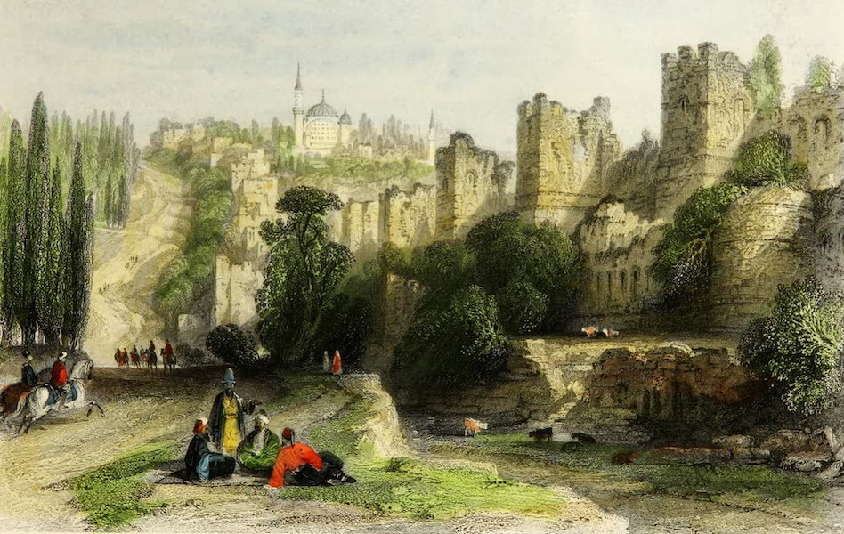 Constantinople and the Scenery of the Seven Churches of Asia Minor Vol. 1 - The Triple Wall of Constantinople (1839)