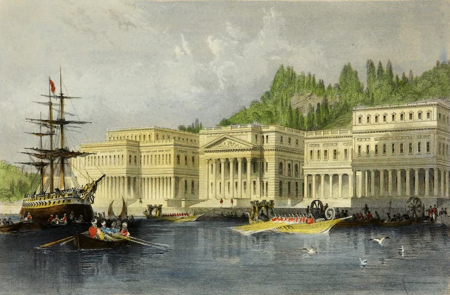 Constantinople and the Scenery of the Seven Churches of Asia Minor Vol. 2 - The Sultans New Palace on the Bosphorus (1839)