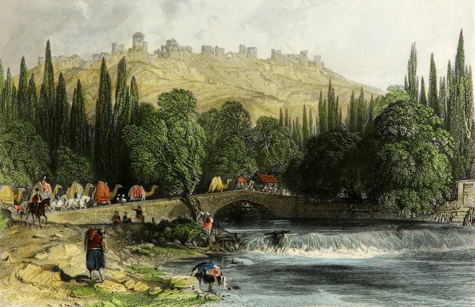 Constantinople and the Scenery of the Seven Churches of Asia Minor Vol. 2 - The Castle of Smyrna (1839)