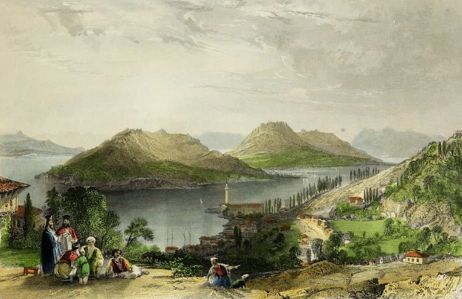 Constantinople and the Scenery of the Seven Churches of Asia Minor Vol. 2 - The Princess' Islands (1839)