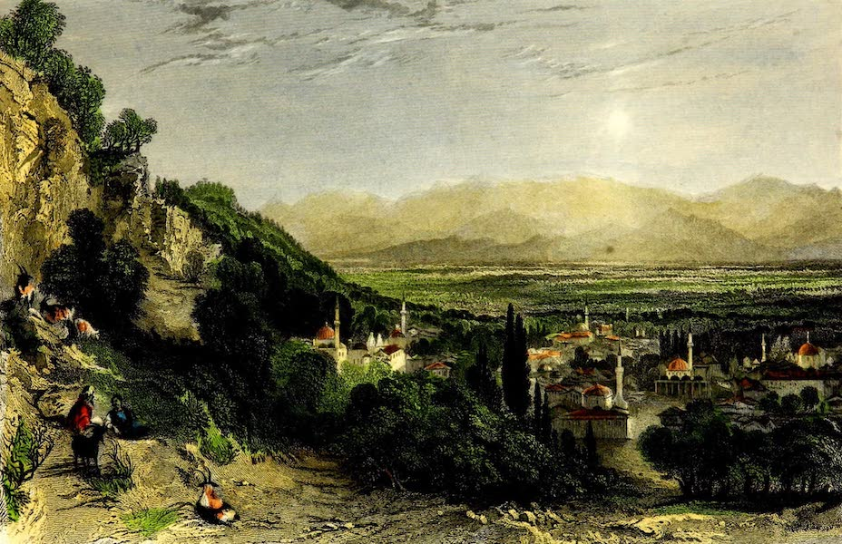 Constantinople and the Scenery of the Seven Churches of Asia Minor Vol. 2 - Guzel-Hissar, and the Plain of the Meander (1839)