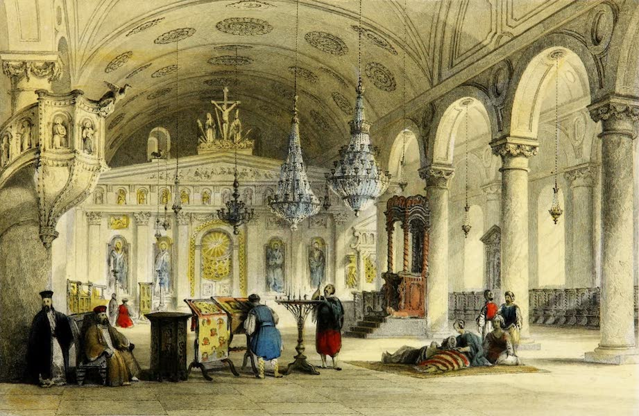 Constantinople and the Scenery of the Seven Churches of Asia Minor Vol. 2 - Greek Church of Baloukli (1839)