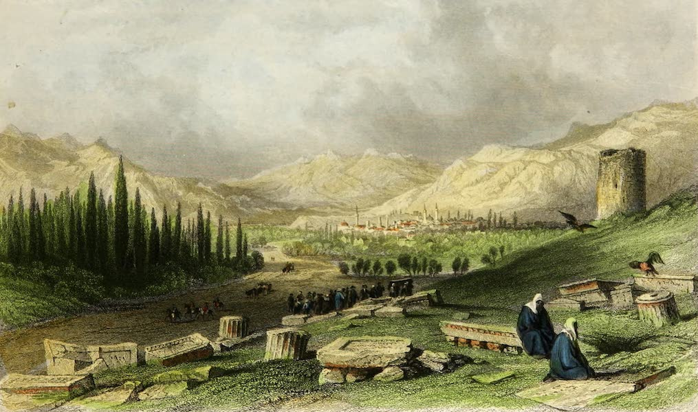Constantinople and the Scenery of the Seven Churches of Asia Minor Vol. 2 - City of Thyatira (1839)