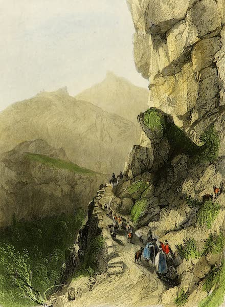 Constantinople and the Scenery of the Seven Churches of Asia Minor Vol. 2 - Ascent of the High Balkan Mountains (1839)